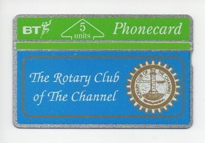 BT Phonecard BTG066, The Rotary Club of The Channel, mint unused