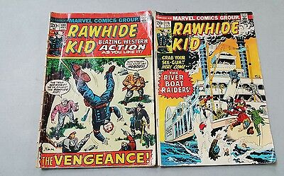 Rawhide Kid #109 #116 (1973-Marvel)