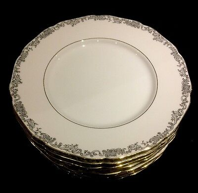 Lot of 9 Hutschenreuther Hohenberg Bread Plates Germany 1814 CM