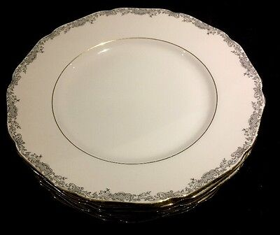 Lot of 6 Hutschenreuther Hohenberg Dinner Plates Germany 1814 CM