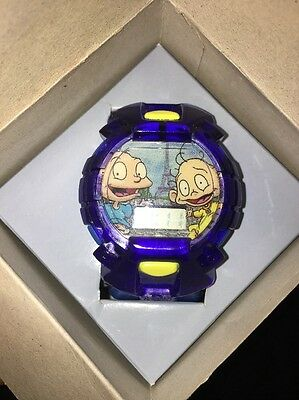 Rugrats in Paris The Movie, Tommy and Dil New in Box, 2000 Wristwatch