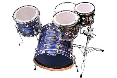 DW Collectors Maple Shellset - Peacock Oyster - Finish Ply