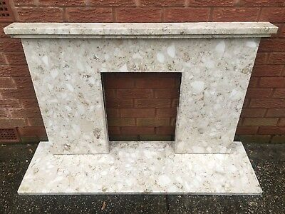 Fire place Hearth Marble and surround