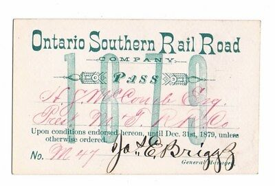 Pass-Ontario Southern Rail Road-1879