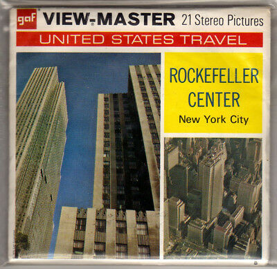 Viewmaster New York Rockefeller Center
