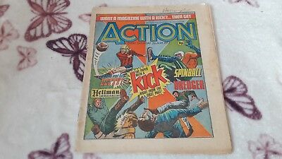 Action Comic. Post Ban. 7Th May 1977. Ipc Magazines Limited. 8P.