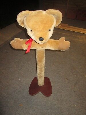 Rare Merrythought Bear Stand For Children's Clothes / Shop Display