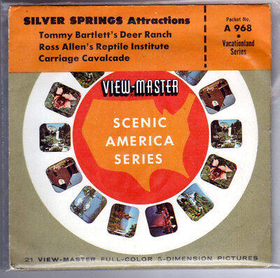 Viewmaster Silver Springs Attractions Florida