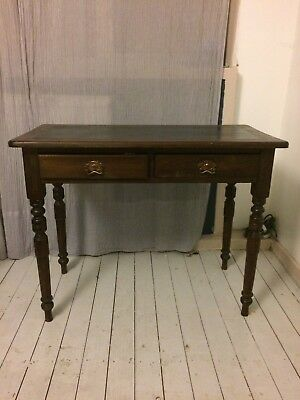Leather-topped Antique Writing Desk