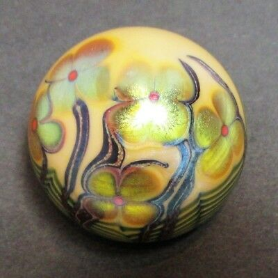 Early Orient & Flume Art Nouveau Paperweight, 1976