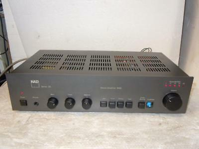 Nad 3020 Stereo Amplifier-British Legend-Vintage-Superb Sound.