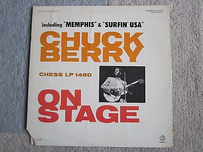 "Chuck Berry ""On Stage"" vinyl LP Chess Records EX condition"
