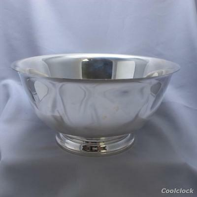 Tiffany & Co. Sterling Silver Punch Bowl Centerpiece Bowl #AD323