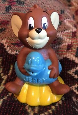 Tom & Jerry Squirt Toy Jerry Mouse in Floaty Ring DQ Toy 1993