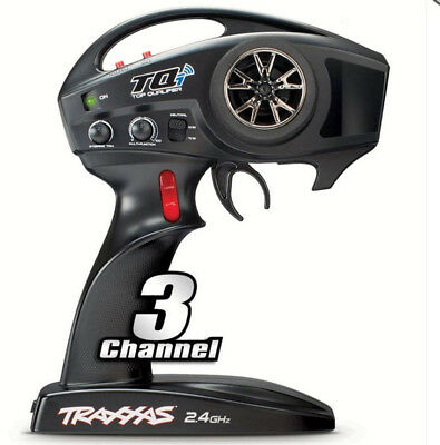 NEW Transmitter, TQi Traxxas Link enabled, 2.4GHz,  3-channel TRA6529 Stampede