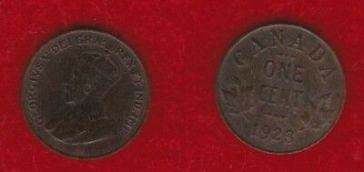 Canada 1 Cent 1923  Free Shipping