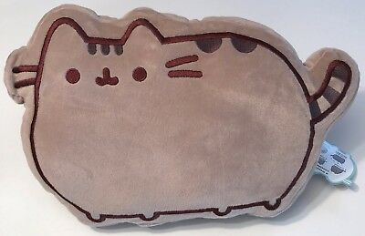 PRIMARK PUSHEEN THE CAT GREY CHARACTER SHAPED CUSHION - Brand New With Tags