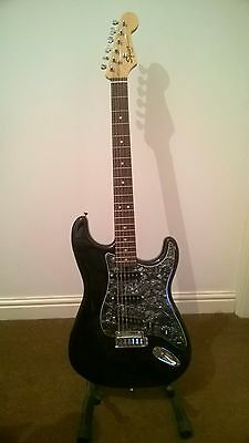 Squier Strat - modded and customised