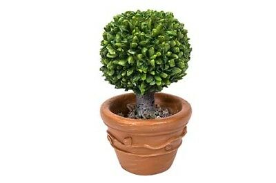 "2.25"" My Fairy Gardens Mini Figure - Resin Bay Laurel Tree - Miniature Figurine"