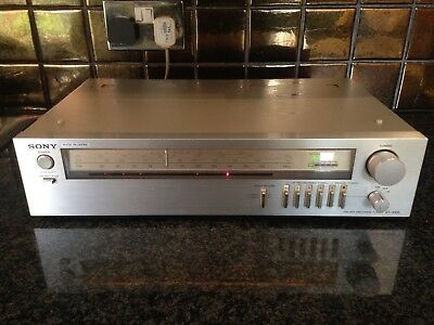 Vintage Sony FM-AM Programmable Tuner - ST-242L