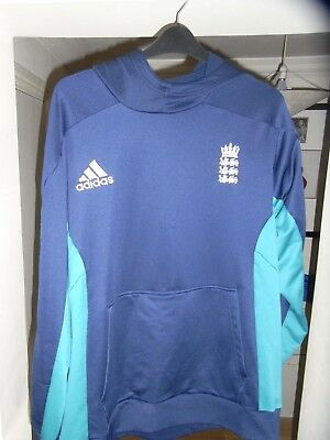 England Cricket Hoodie Hooded Top - XXL / 2XL Adult - Adidas - 2015 - Must See