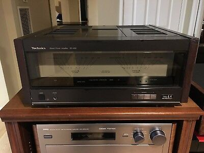 Technics Amplifier model SE A100 Vintage HiFi