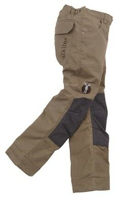 elkline Woodruff - Sturdy Outdoor Trousers for Kids/Youth, Khaki