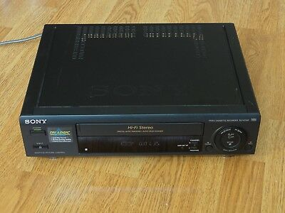 Sony SLV-675HF VHS VCR Video Cassette Player & Recorder with Remote Control