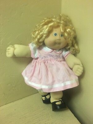 1986 Xavier Roberts Little People Cabbage Patch Doll  15""