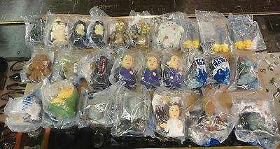 Star Wars Burger King Figure Head Lot of 53 Revenge of the Sith 3 New Unopened