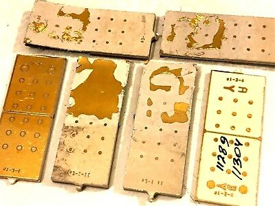 """~ Last Call~Rare-"""""""" Factory Defaults"""""""" -Gold Plate Boards For Scrap Recovery"""