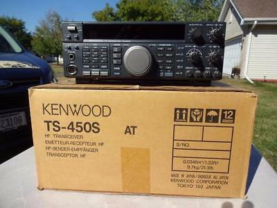 Kenwood Ts-450S At Ham Radio Transceiver. Free Shipping!
