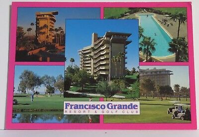 Francisco Grande Resort and Golf Course 4x6 Chrome Postcard Multi-View