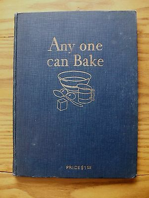 1929 Advertising Cookbook ~ Any One Can Bake ~ Royal Baking Powder