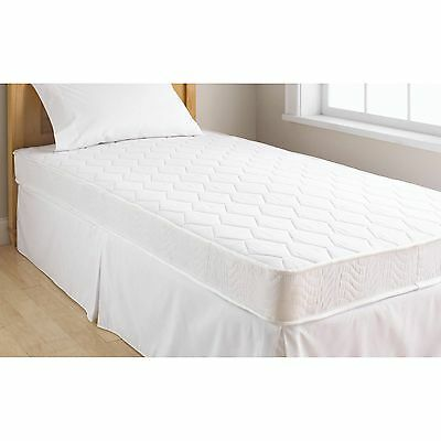 Full Mattress 6 Inch Contour Best Comfort Superbly Pocketed Innerspring White