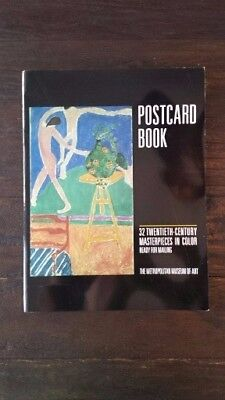 Postcard Book 32Twentieth-Century Masterpieces by The Metropolitan Museum of Art