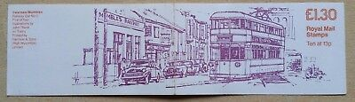 Royal Mail folded stamp booklet - Trams (1)