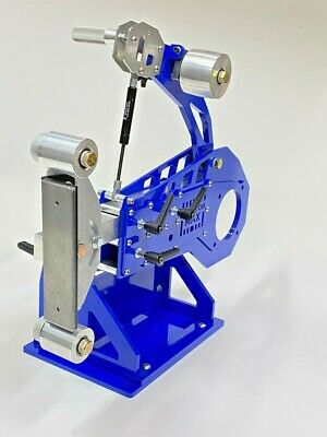 2x72 BELT GRINDER chassis WITH IDLER & TRACKING WHEELS!