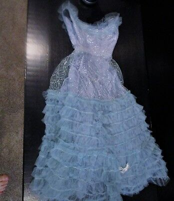 "Very HTF 30"" Darling Debbie Doll Orig Glamour Gown - 1950's"