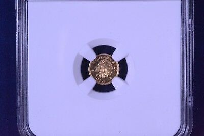 1914 25C Montana Gold Hart's Coins of the West Uncirculated NGC MS64 4460520-004