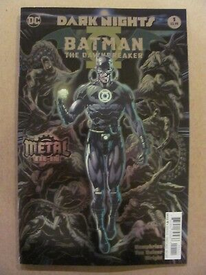 Batman The Dawnbreaker #1 Dark Nights DC 2017 One Shot 1st Print Foil Cover 9.6