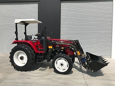 New 45hp Tractor, 3-Year Warranty with Front end Loader
