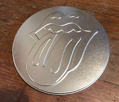 Rolling Stones Exclusive Fan Club Dvd, 2005, Metal Container  W/ Logo