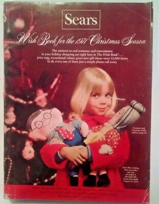 1971 SEARS Wish Book Christmas  Catalog-toys, GI Joe,bell bottoms,Barbie
