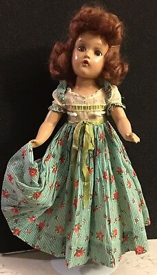 Lovely MADAME ALEXANDER VINTAGE COMPOSITION TAGGED DOLL, WONDERFUL!