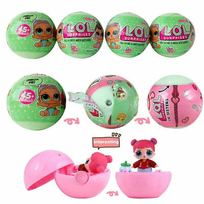 Hot LOL Surprise Doll Cute Decompression Toy Baby Dolls Kids Christmas Gift
