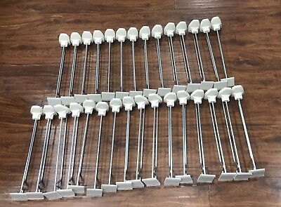 """Lot of 30 x 12"""" InVue Hook Retail Security"""