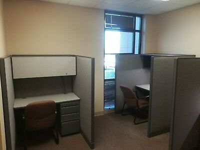 SET of 10 OFFICE CUBICLES for Telemarketing