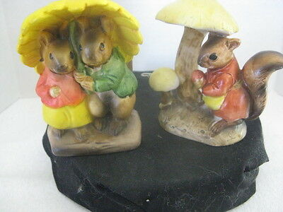 Squirrel Knick Knack Figuines ~ **Gift Idea