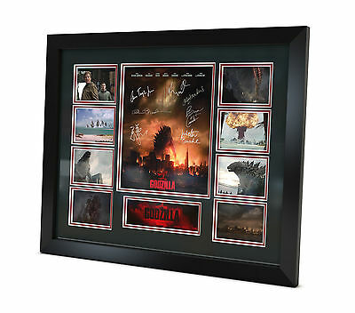 Godzilla - Signed Photo - Movie Memorabilia - Framed - Limited Edition - COA